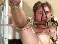 Joel Extreme Bondage from Breeder Fuckers