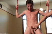 Straight Stud Bondage from Men On Edge
