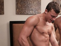 Peter Calvin Joshua Bareback from Sean Cody