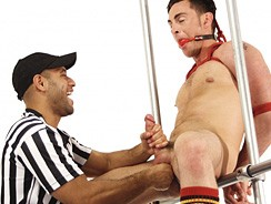 Leo Forte Edges Tristan Phoen from Bound Jocks