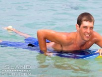 Brian Big Dick Surfer from Island Studs