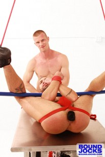 Blake Daniels Tops Dominic from Bound Jocks
