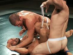 Jockstraps Ripping Tag Team from Naked Kombat