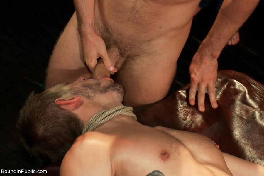 Bound Stud Gets Tickled