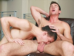 Bryan Cavallo Fucks Tyler Swe from College Dudes