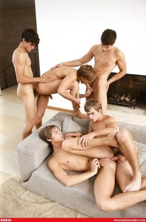 The Kinkyangels Orgy from Bel Ami Online