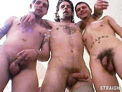 Filthy Late Night Mouth Full from Straight Boys Fucking