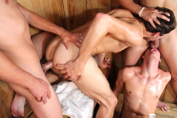 Steamy Bisexual Nasty Orgy