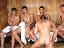 Steamy Sex Orgy from Bath House Bait