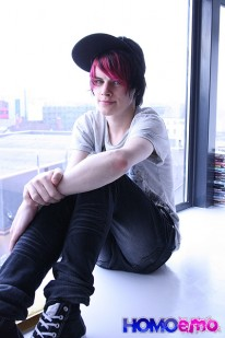 Cute Emo Boy Damien Winters from Emo Network