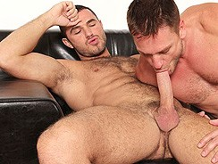 Jessy Ares And Hans Berlin from Cocksure Men
