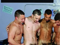 Ten Latin Studs Gangbang Josh from Jocks Studios
