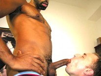 Christening A New Cock Sucker from New York Straight Men