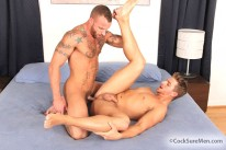 Derek Parker And Logan Vaughn from Cocksure Men