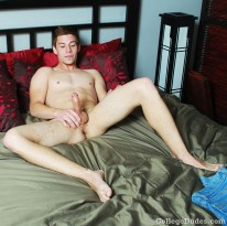 Eric Huston Busts A Nut 2 from College Dudes