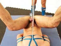 Jessy Ares Tops Dolan Wolf from Bound Jocks