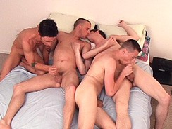 4way Oral from Boy Gusher