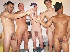 Gay Porn - Taking Aim from Dick Dorm