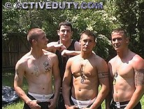 Kane Luke And Shane from Active Duty