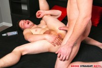 Johnny Forza Creampies Lucas from Broke Straight Boys