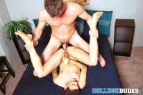 Bryan Cavallo Fucks Owen Clar from College Dudes