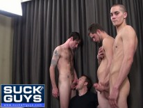 Group Suckoff Wtrevor Walker from Suck Off Guys