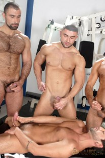Circle Jerk from Hairy Boyz