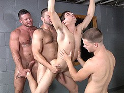 Gay Porn - Prison Shower 3 Scene 1 from Men