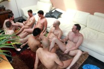 8 Way Group Sex At Home from Amateurs Do It