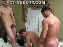 Twin Soldiers Fuck from Active Duty