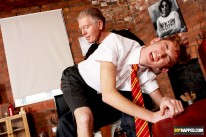 Spanking The Schoolboy from Boynapped