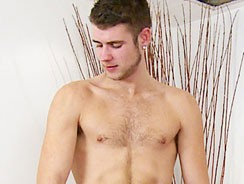 Tall Hairy Young Man Kevin St from English Lads
