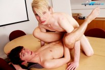 Blonde Boy Gives A Hardcore from Staxus