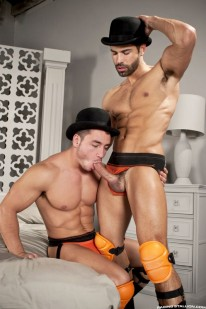 Cockwork D O  And Marc Dylan from Raging Stallion
