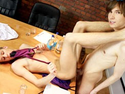 Horny Twinks Sneak Off from Staxus