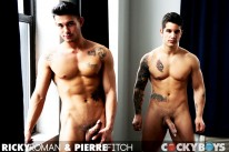 Ricky Roma Fucks Pierre Fitch from Cocky Boys