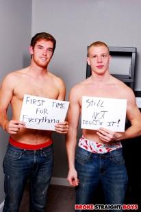 John And Tyler Raw Flip from Broke Straight Boys