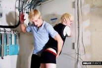 Max Spanks Brant from 8teen Boy