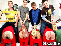 Gay Porn - Pledges In Red from Haze Him