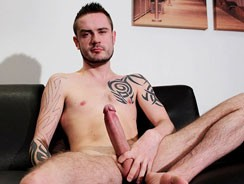 Tattooed Stud Nick Oval from Blake Mason