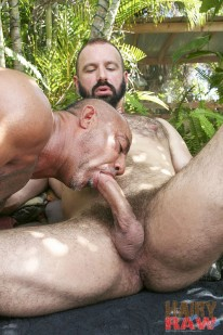 Bo Bangor And Troy Webb from Hairy And Raw