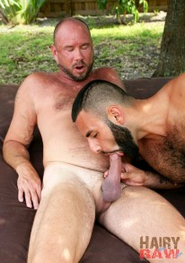 David Camacho And James Antho from Hairy And Raw