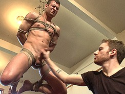 Gay Porn - Hot Stud Hayden Richards Boun from Men On Edge