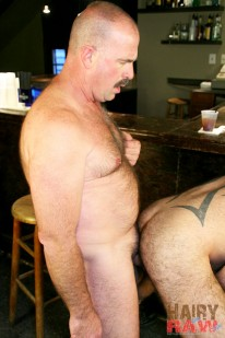 Clint Taylor And Mac Brody from Hairy And Raw