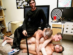 Gay Porn - Midnight Raid from Haze Him