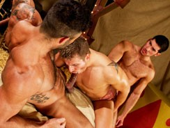 Behind The Big Top Leo Logan from Raging Stallion