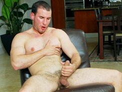 Gay Porn - Eric Rollins Busts A Nut from College Dudes