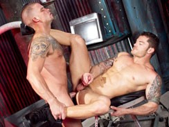 Cock Tease Caleb Colton And M from Raging Stallion