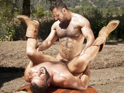 Gay Porn - Cowboys Part 2 Adam And Wilfr from Raging Stallion