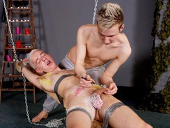 Cock Torture For Twinky Dean from Boynapped